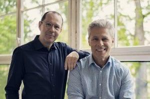Marco Dröge und Thomas Wiggermann