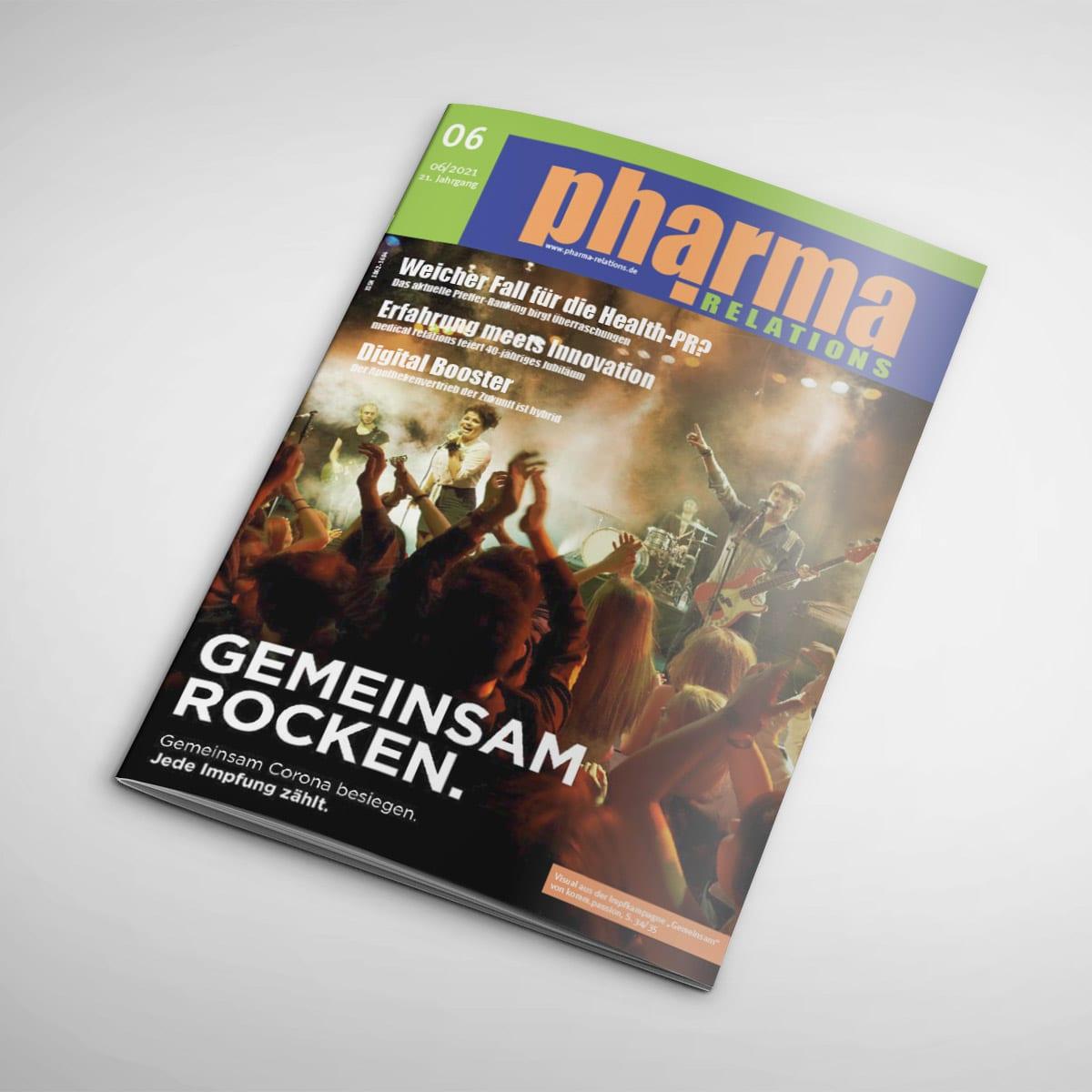 Pharma relations Cover